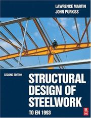 Cover of: Structural Design of Steelwork to EN 1993 and EN 1994, Third Edition