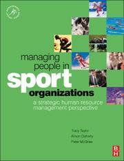 Cover of: Managing People in Sport Organizations