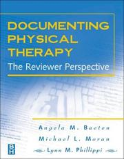 Cover of: Documenting Physical Therapy