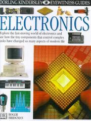 Cover of: Electronics (DK Eyewitness Guides)