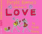 Cover of: Purple Ronnie's Little Book of Love (Purple Ronnie)