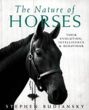 Cover of: Nature of Horses Their Evolution
