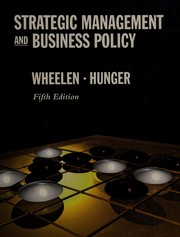 Cover of: Strategic management and business policy
