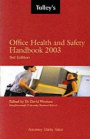 Cover of: Tolley's Office Health and Safety Handbook
