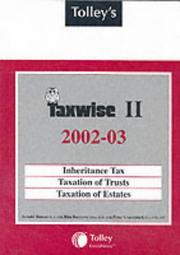 Cover of: Tolley's Taxwise II 2002-03