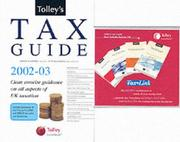 Cover of: Tolley's Tax Guide 2002-03