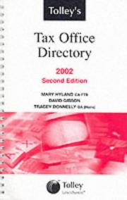 Cover of: Tax Office Directory 2002 (Six-monthly)