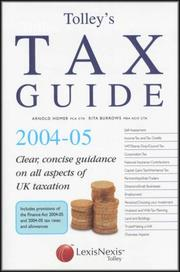 Cover of: Tolley's Tax Guide
