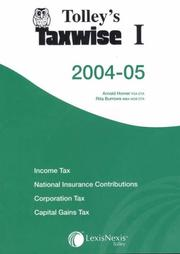 Cover of: Tolley's Taxwise I