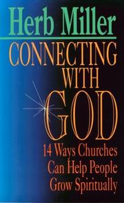 Cover of: Connecting with God