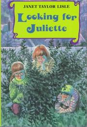 Cover of: Looking for Juliette