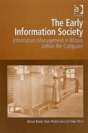Cover of: The Early Information Society
