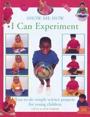 Cover of: Show Me How I Can Experiment (Show Me How I Can)