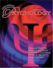 Cover of: General Psychology