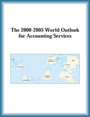 Cover of: The 2000-2005 World Outlook for Accounting Services (Strategic Planning Series)