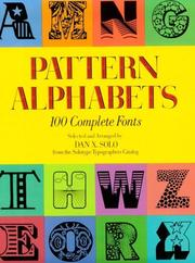 Cover of: Pattern alphabets