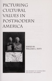 Cover of: Picturing cultural values in postmodern America