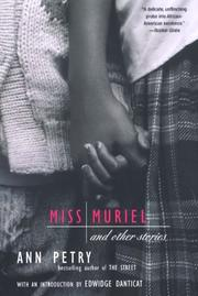 Cover of: Miss Muriel and Other Stories