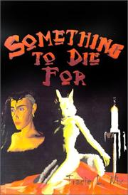 Cover of: Something to Die for