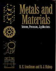 Cover of: Metals and materials