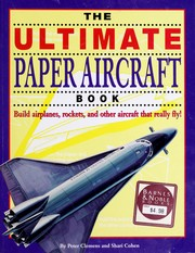 Cover of: The ultimate paper aircraft book