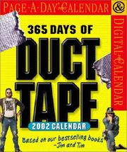Cover of: 365 Days of Duct Tape Page-A-Day Calendar 2002
