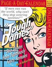 Cover of: Tough Dames Page-A-Day Calendar 2003