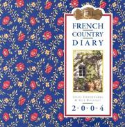 Cover of: French Country Diary Calendar 2004