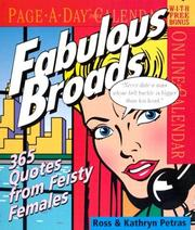 Cover of: Fabulous Broads Page-A-Day Calendar 2005 (Page-A-Day Calendars)