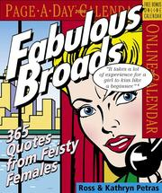 Cover of: Fabulous Broads Calendar 2006