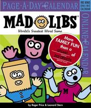Cover of: Mad Libs Page-A-Day Calendar 2007 (Page-A-Day Calendars)