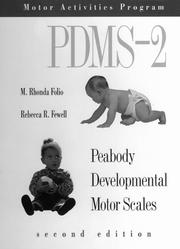 Cover of: Peabody Developmental Motor Scales, (Pdms-2) 5th Ed
