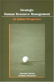 Cover of: Strategic Human Resource Management