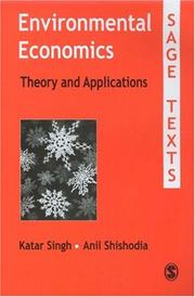 Cover of: Environmental Economics