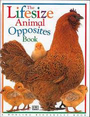 Cover of: The lifesize animal opposites book