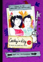 Cover of: Cathy's key