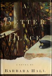 Cover of: A better place