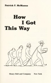 Cover of: How I Got This Way