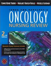 Cover of: Oncology Nursing Review (Jones and Bartlett Series in Oncology)