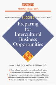 Cover of: Intercultural Business