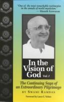 Cover of: In the vision of God