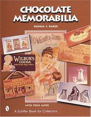 Cover of: Chocolate Memorabilia (Schiffer Book for Collectors)