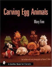 Cover of: Carving Egg Animals (Schiffer Book for Carvers)