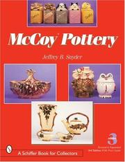 Cover of: McCoy Pottery - 3rd Edition ( Third )