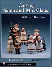 Cover of: Carving Santa and Mrs. Claus