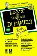 Cover of: 1-2-3 98 for Windows for Dummies Quick Reference