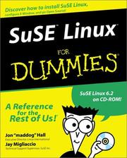 Cover of: SuSE Linux for Dummmies