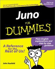 Cover of: Juno for Dummies