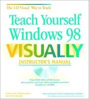 Cover of: Teach Yourself Windows 98 VISUALLY Instructor's Manual