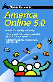 Cover of: Quick Guide to America Online 5.0